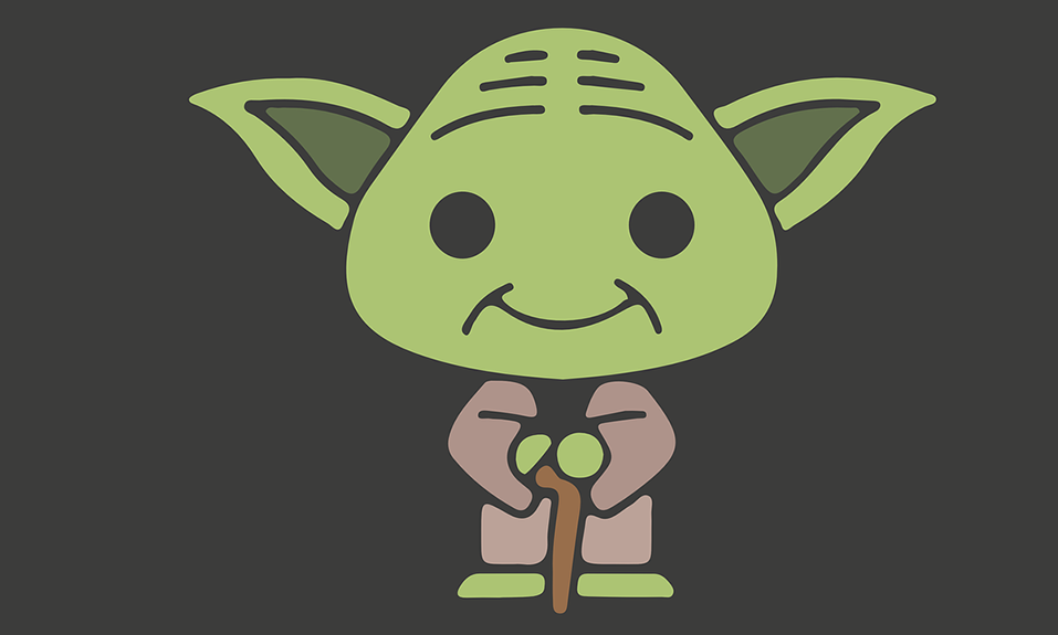 Cartoon Yoda