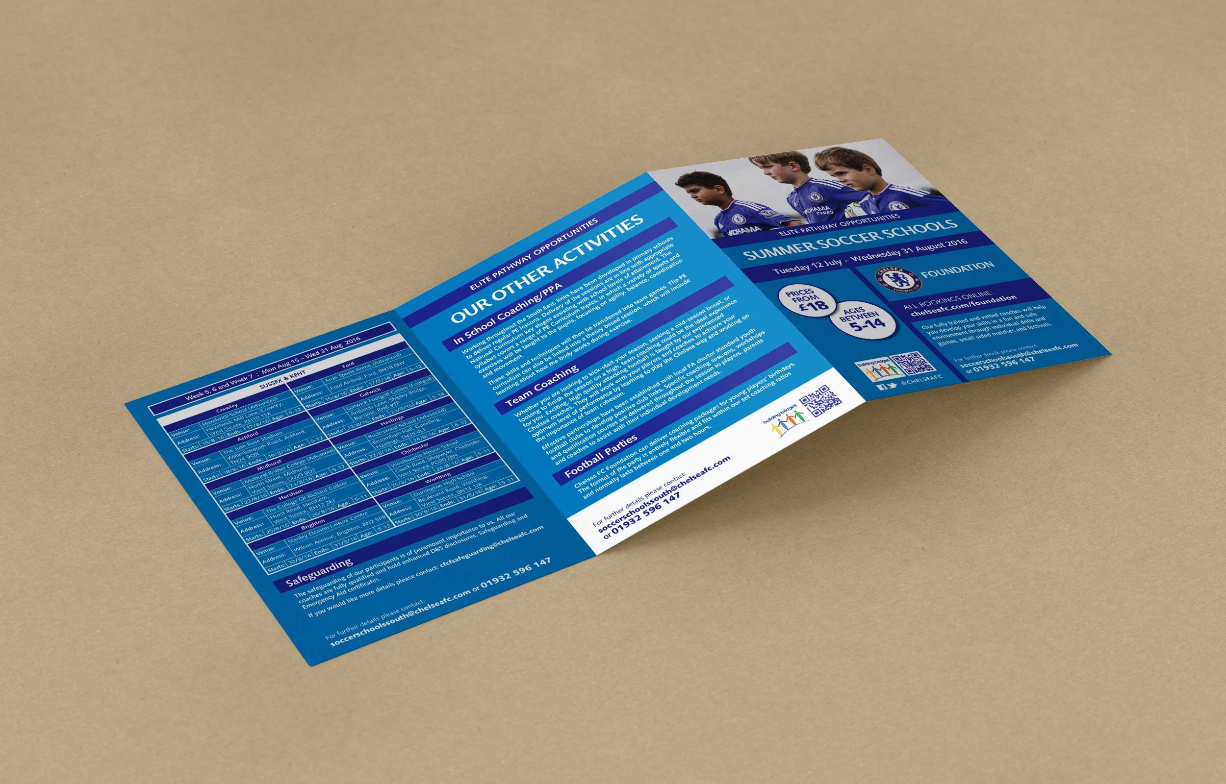 Chelsea-Summer-Soccer-School-Leaflet