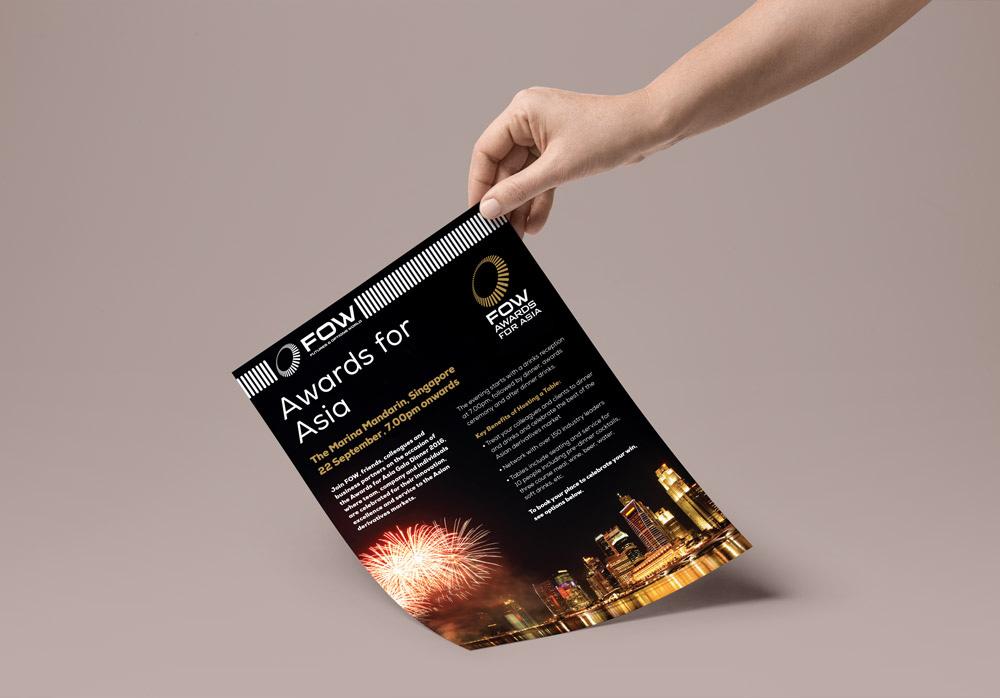 FOW Awards Gala Brochure