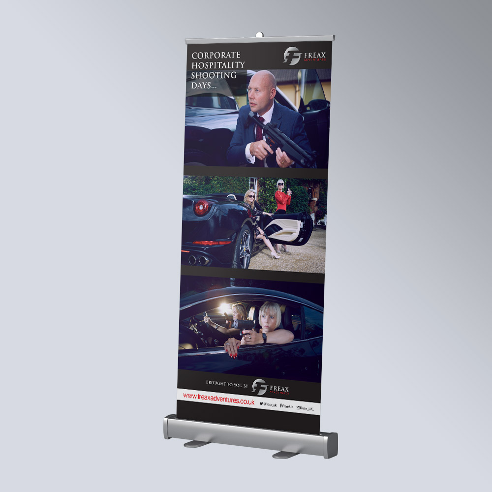 Freax corporate shooting banner