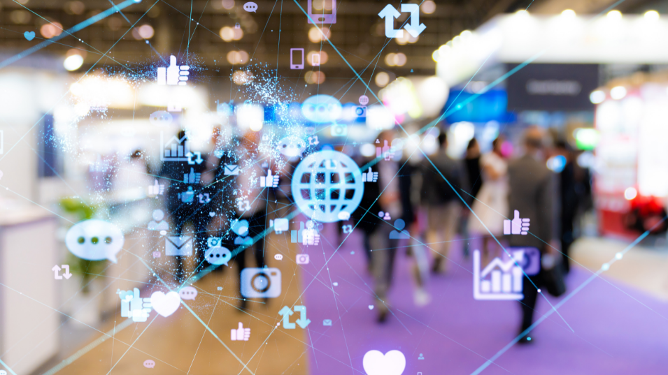 Why are exhibitions important for brand building?