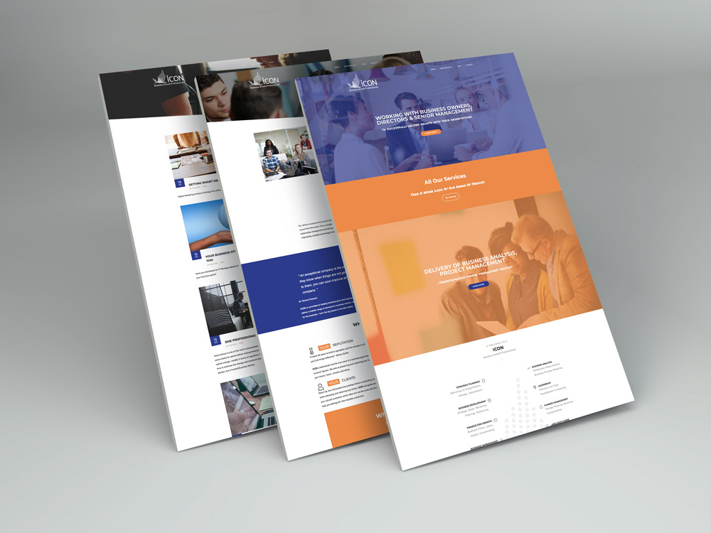 Icon Website Display